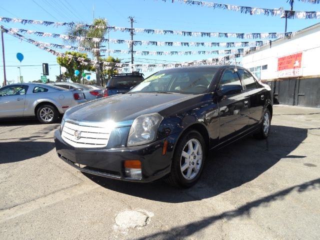 2007 CADILLAC CTS BASE 4DR SEDAN blue 2-stage unlocking - remote abs - 4-wheel antenna type - d