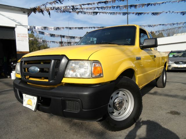 2007 FORD RANGER XLT 2DR SUPERCAB STYLESIDE SB yellow abs - 4-wheel airbag deactivation - passen
