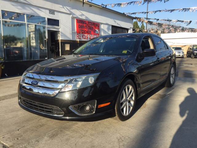 2010 FORD FUSION SEL 4DR SEDAN black abs - 4-wheel air filtration airbag deactivation - occupan