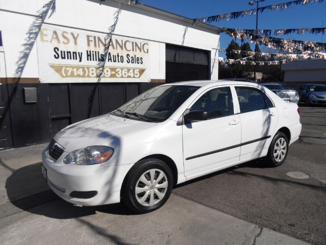 2008 TOYOTA COROLLA CE 4DR SEDAN 4A white air filtration airbag deactivation - occupant sensing