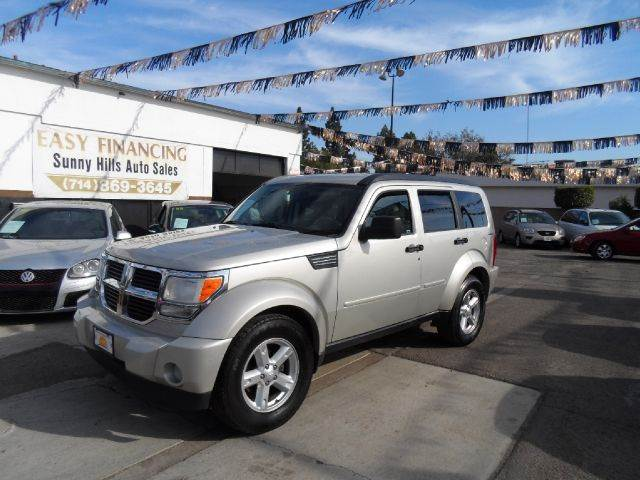 2009 DODGE NITRO SLT 4X4 4DR SUV gray 2-stage unlocking - remote 4wd type - part time abs - 4-w