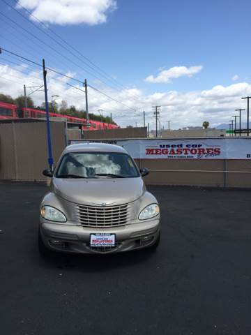 2004 CHRYSLER PT CRUISER TOURING EDITION 4DR WAGON gold anti-theft system - alarm center console