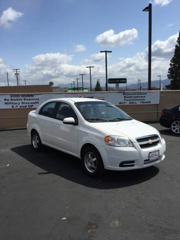 2010 CHEVROLET AVEO LT 4DR SEDAN W1LT white air filtration airbag deactivation - occupant sensi