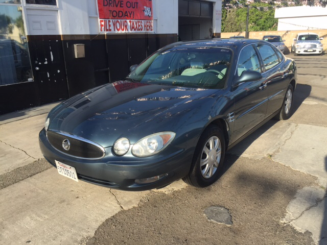 2006 BUICK LACROSSE CX 4DR SEDAN blue abs - 4-wheel air filtration airbag deactivation - occupa