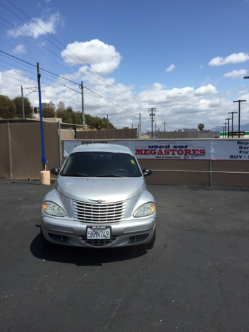 2005 CHRYSLER PT CRUISER TOURING 4DR WAGON silver center console - front console with storage cl