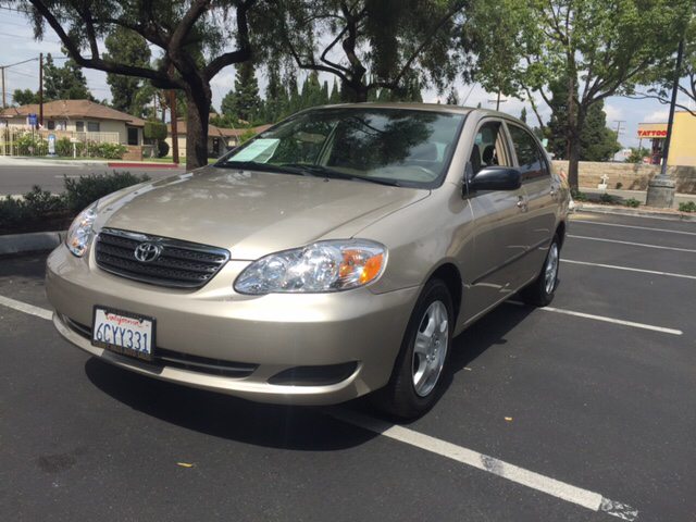 2008 TOYOTA COROLLA S 4DR SEDAN 5M gold air filtration airbag deactivation - occupant sensing pa