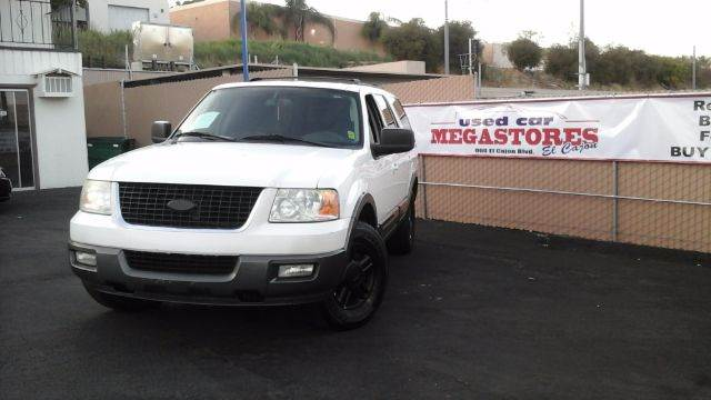 2004 FORD EXPEDITION XLT 4DR SUV white abs - 4-wheel adjustable pedals - power anti-theft syste
