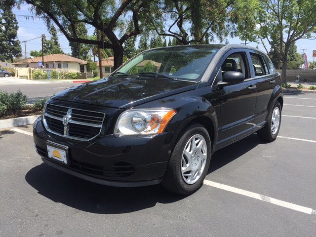 2007 DODGE CALIBER SXT 4DR WAGON black 2-stage unlocking airbag deactivation - occupant sensing