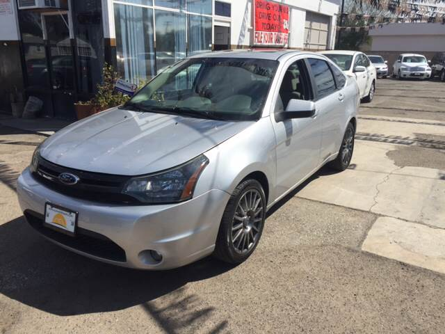 2010 FORD FOCUS SES 4DR SEDAN silver abs - 4-wheel airbag deactivation - occupant sensing passen