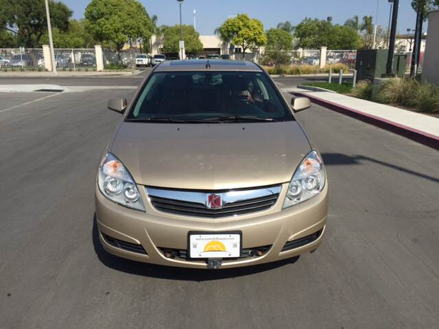 2007 SATURN AURA XR 4DR SEDAN gold 2-stage unlocking - remote abs - 4-wheel airbag deactivation
