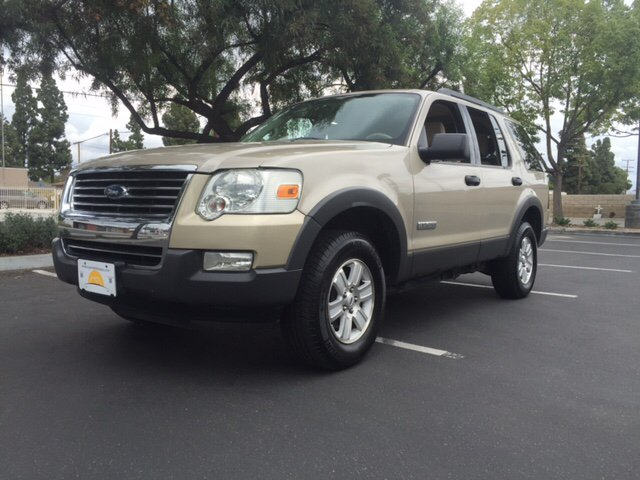 2006 FORD EXPLORER XLT 4DR SUV gold abs - 4-wheel airbag deactivation - occupant sensing passeng