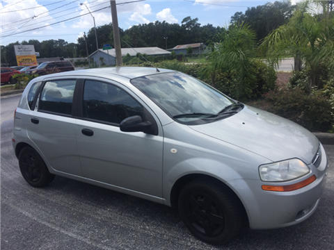 2005 Chevrolet Aveo for sale in Tampa, FL