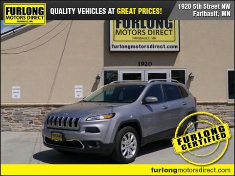 2017 Jeep Cherokee for sale in Faribault, MN