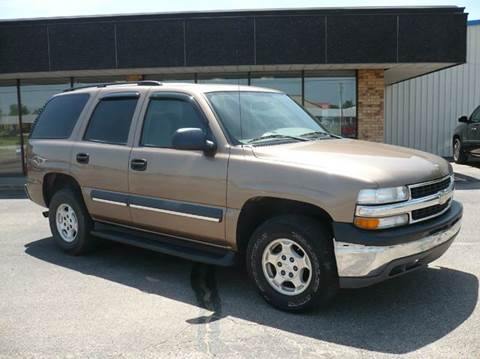 2004 Chevrolet Tahoe for sale in Eureka, KS