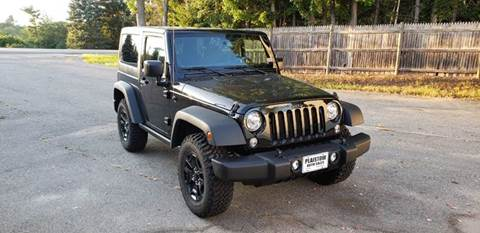 2017 Jeep Wrangler Sport For Sale In Plaistow, NH
