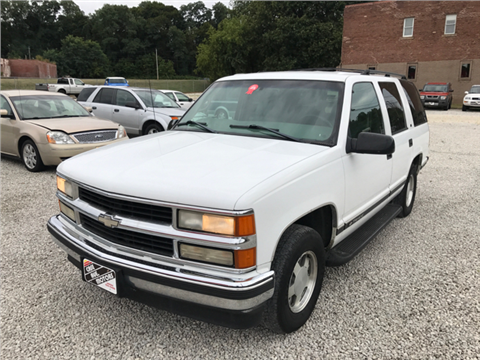 1998 Chevrolet Tahoe for sale in Akron, OH