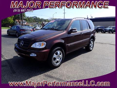 2003 Mercedes-Benz M-Class for sale in Hamilton, OH