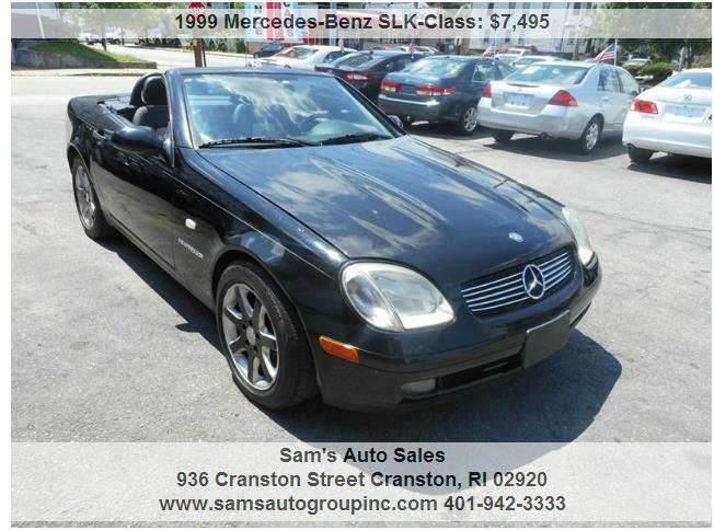 1999 mercedes benz slk in cranston ri sam 39 s auto group inc for Mercedes benz ri