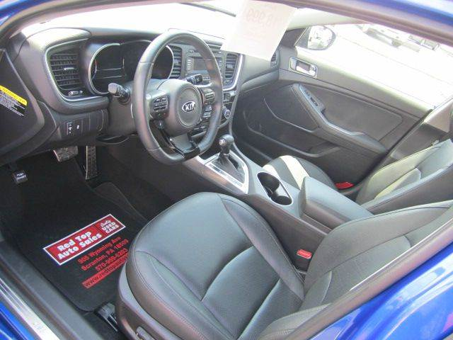 2014 Kia Optima SX Turbo 4dr Sedan - Scranton PA