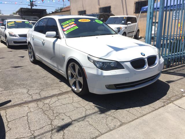 2008 BMW 5 Series 535i 4dr Sedan Luxury - Los Angeles CA