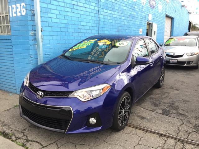 2014 Toyota Corolla S Premium 4dr Sedan - Los Angeles CA