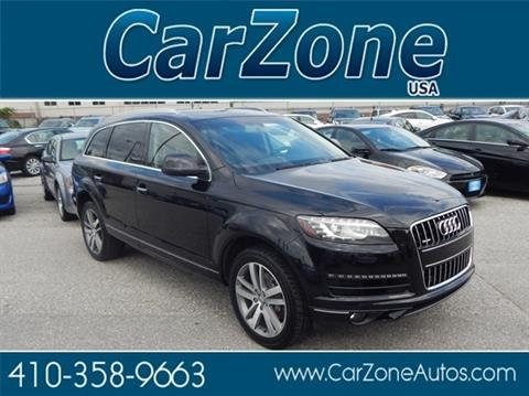 2012 Audi Q7 for sale in Baltimore, MD