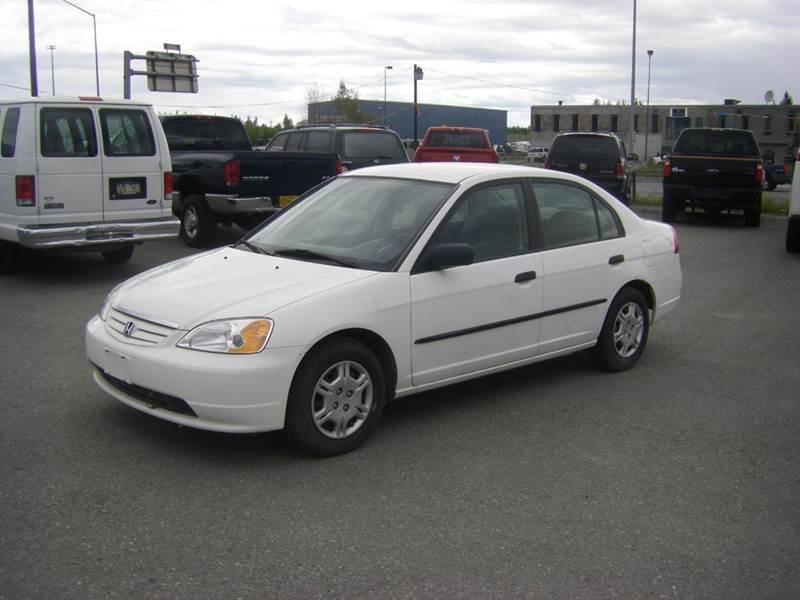 2001 Honda Civic GX 4dr Sedan - Anchorage AK