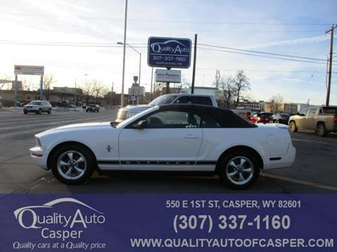 2007 Ford Mustang for sale in Gillette, nul