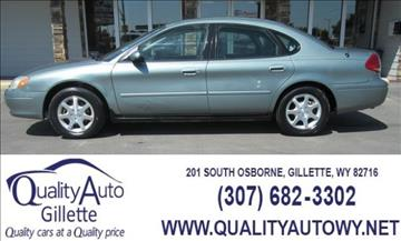 2007 Ford Taurus for sale in Gillette, nul