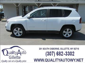 2016 Jeep Compass for sale in Gillette, WY