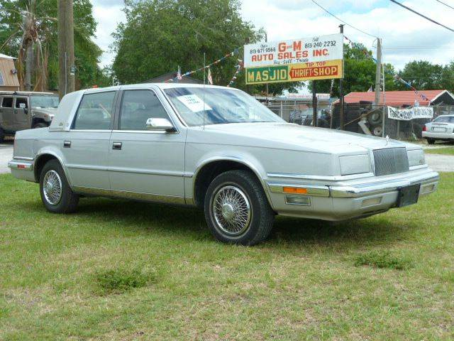 1988 chrysler new yorker for 1990 chrysler new yorker salon