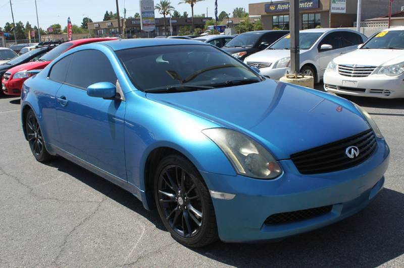 Used Cars in Las Vegas 2004 Infiniti G35