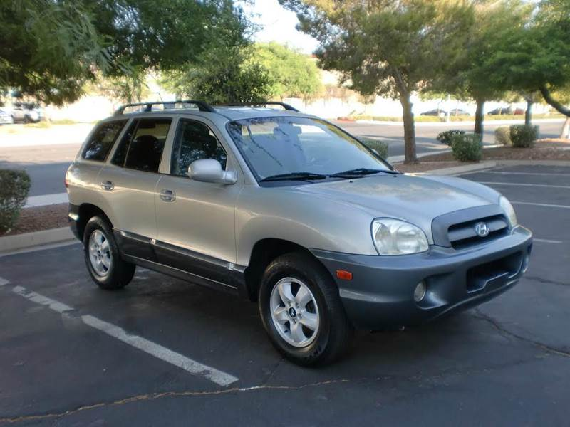 Used Cars in Las Vegas 2005 Hyundai Santa Fe