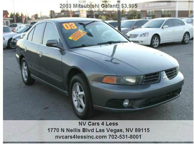 Used Cars in Las Vegas 2003 Mitsubishi Galant