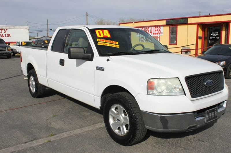 Used Cars in Las Vegas 2004 Ford F-150