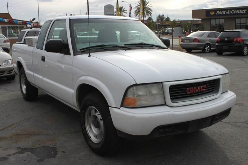 Used Cars in Las Vegas 2001 GMC Sonoma