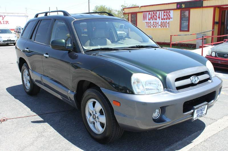 Used Cars in Las Vegas 2006 Hyundai Santa Fe