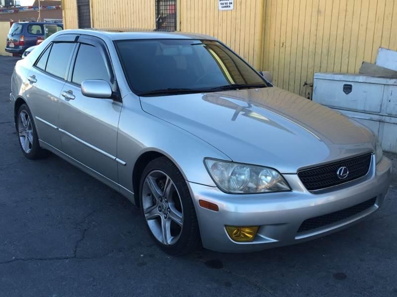 Used Cars in Las Vegas 2002 Lexus IS 300