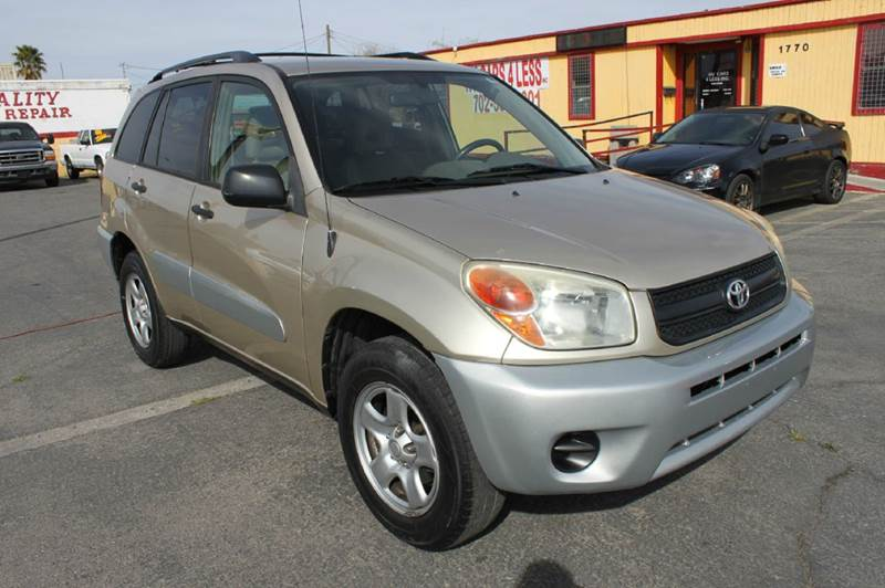Used Cars in Las Vegas 2004 Toyota RAV4