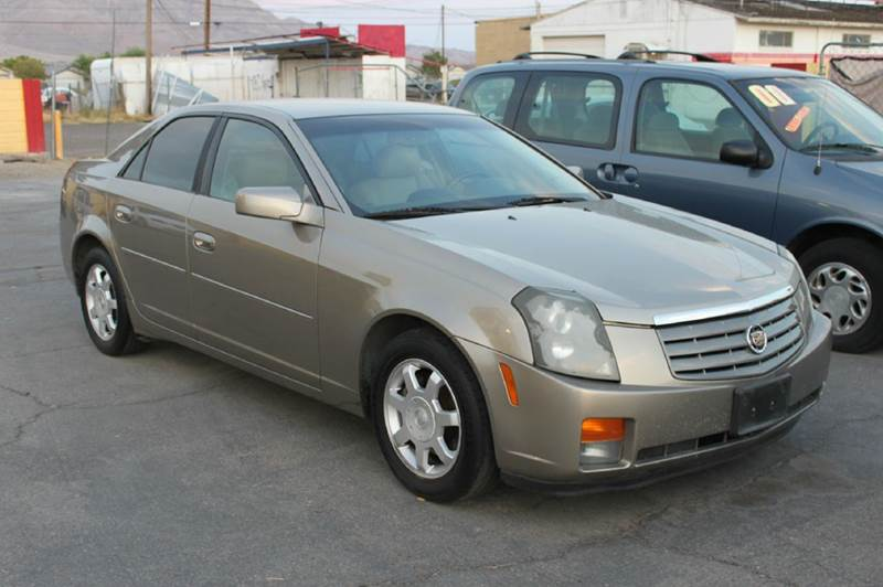 Used Cars in Las Vegas 2003 Cadillac CTS