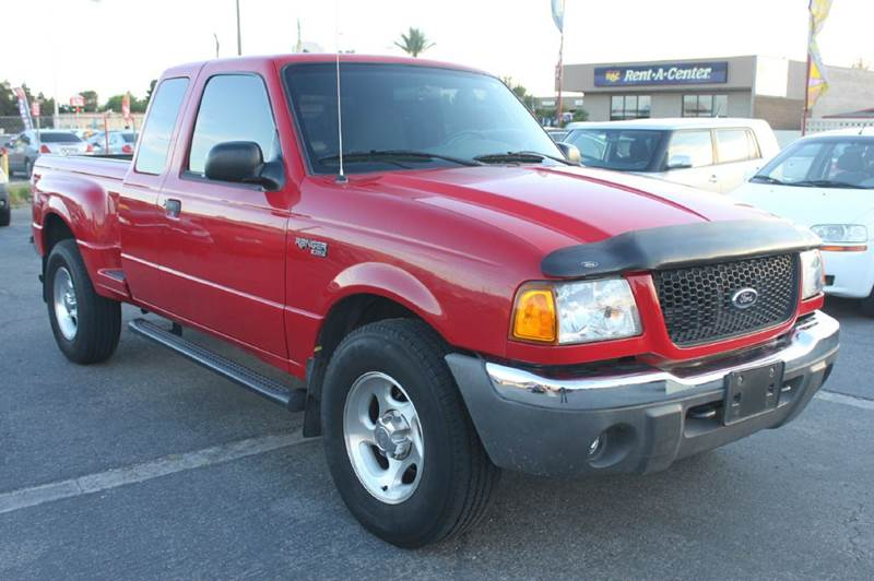 Used Cars in Las Vegas 2001 Ford Ranger