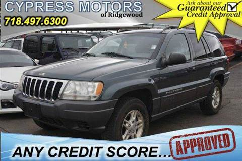 2002 Jeep Grand Cherokee for sale in Ridgewood, NY