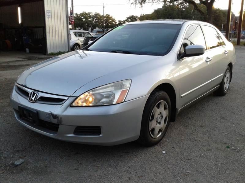 2006 Honda Accord For Sale >> 2006 Honda Accord For Sale In Texas Carsforsale Com
