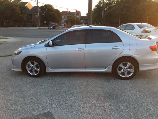 2011 Toyota Corolla S 4dr Sedan 4A In San Antonio TX  BEST DRIVE
