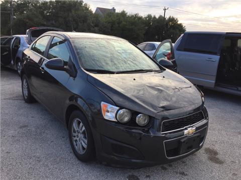 2014 Chevrolet Sonic for sale in San Antonio, TX