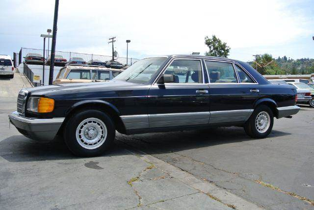 1985 mercedes benz 500 class 500sel w126 loaded in el for 1985 mercedes benz 500sel