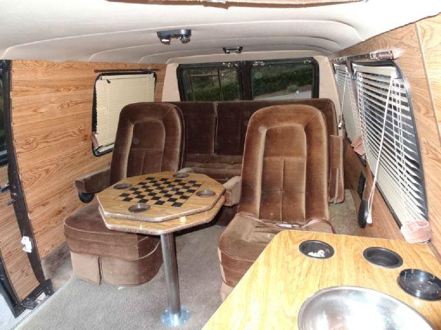 1986 Chevrolet G20 Red E Kamp Conversion Van In El Cajon Ca 1 Owner Car Guy