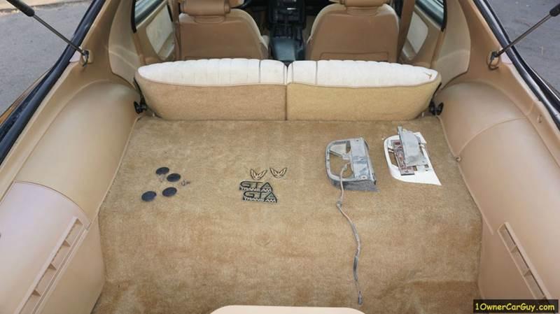 1987 Pontiac Firebird Trans Am GTA - El Cajon CA