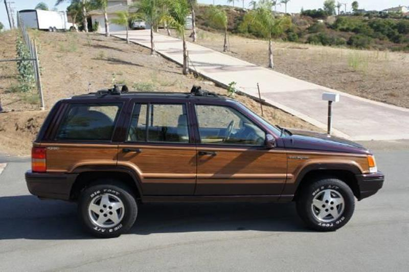 1993 jeep grand cherokee grand wagoneer in el cajon ca 1 owner car guy 1993 jeep grand cherokee interior