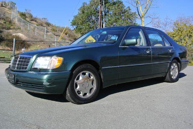 1995 mercedes benz s class s420 w140 sedan loaded in el for Mercedes benz s420